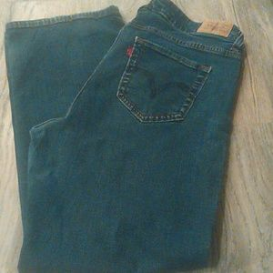 Levis 512 Perfectly Shaping Sz 18W Short